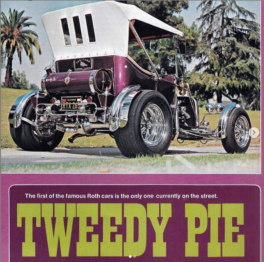 Tweedy Pie T-Bucket Piero De Luca Bob Johnston Ed Roth